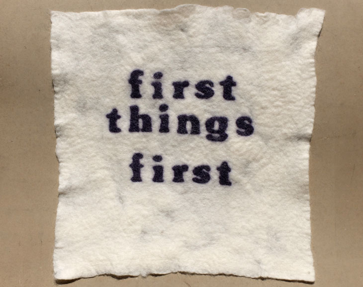 first things first 2014